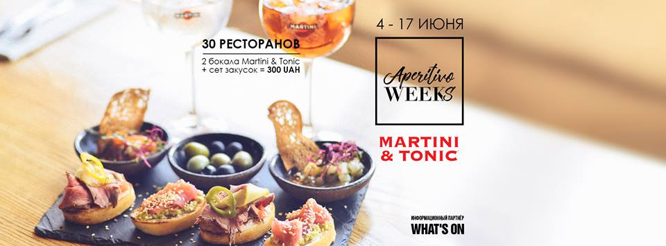 APERITIVO WEEKs (Week 2)