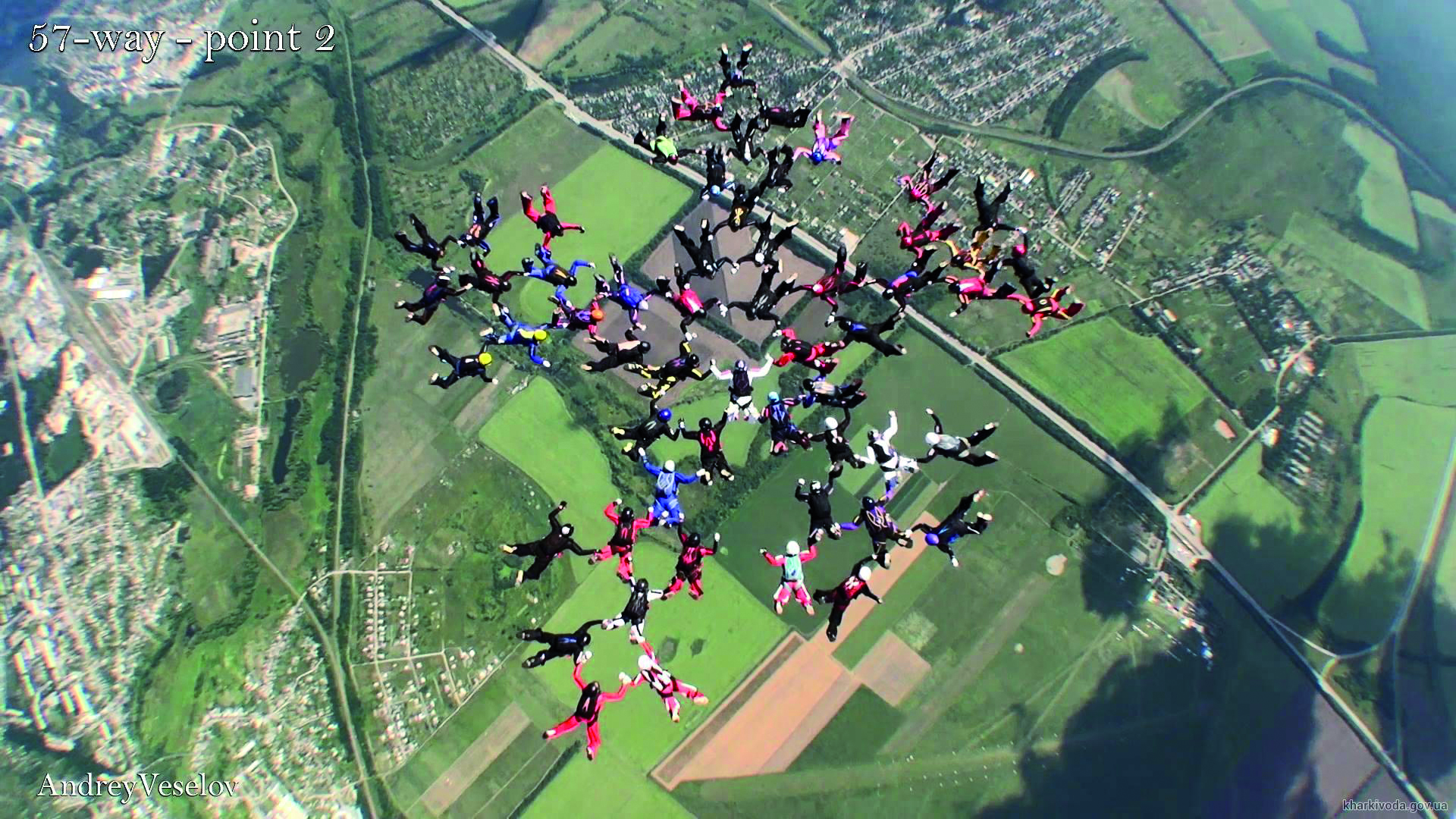 New Skydiving Record Set in Ukraine!