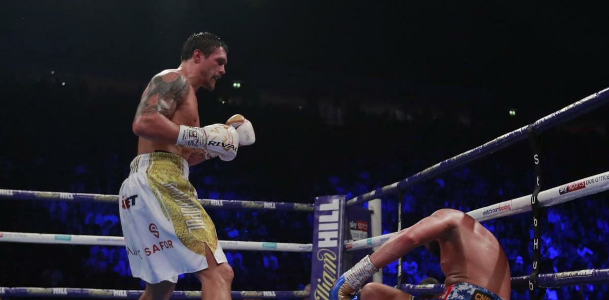 Usyk Takes the Title
