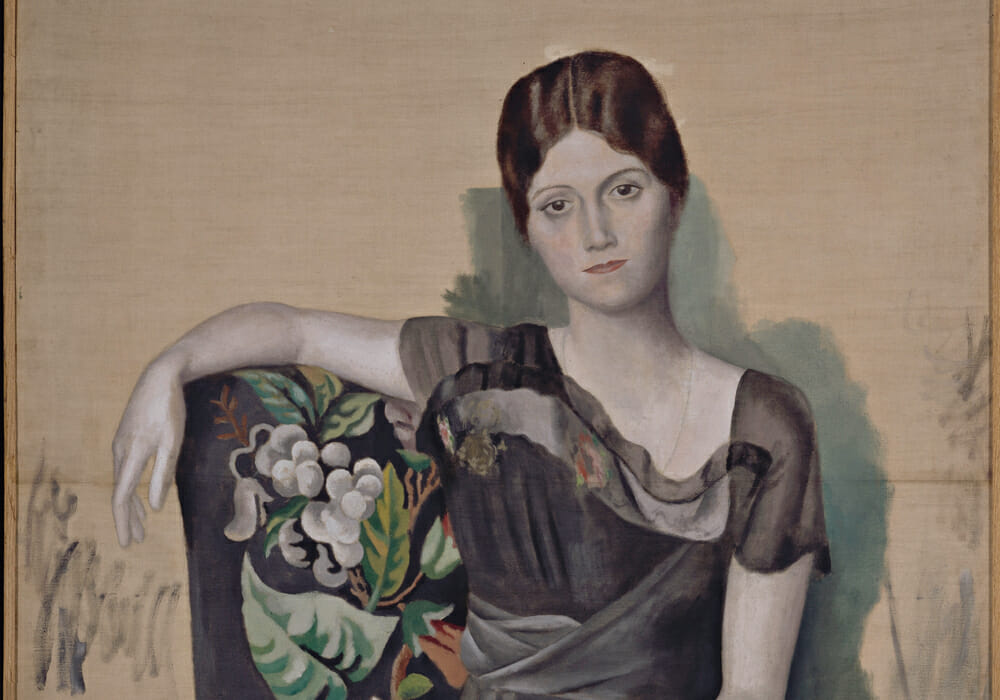 Olha, Picasso's Wife by Tetyana Sydorenko