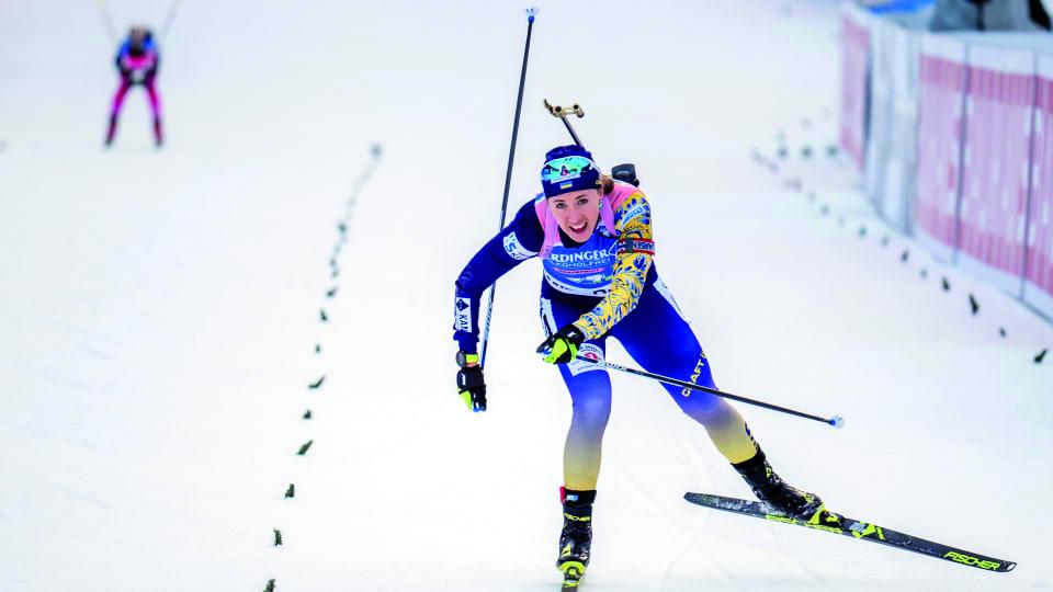 Dzhima Stars for Ukraine as Biathlon World Cup Heads to Germany
