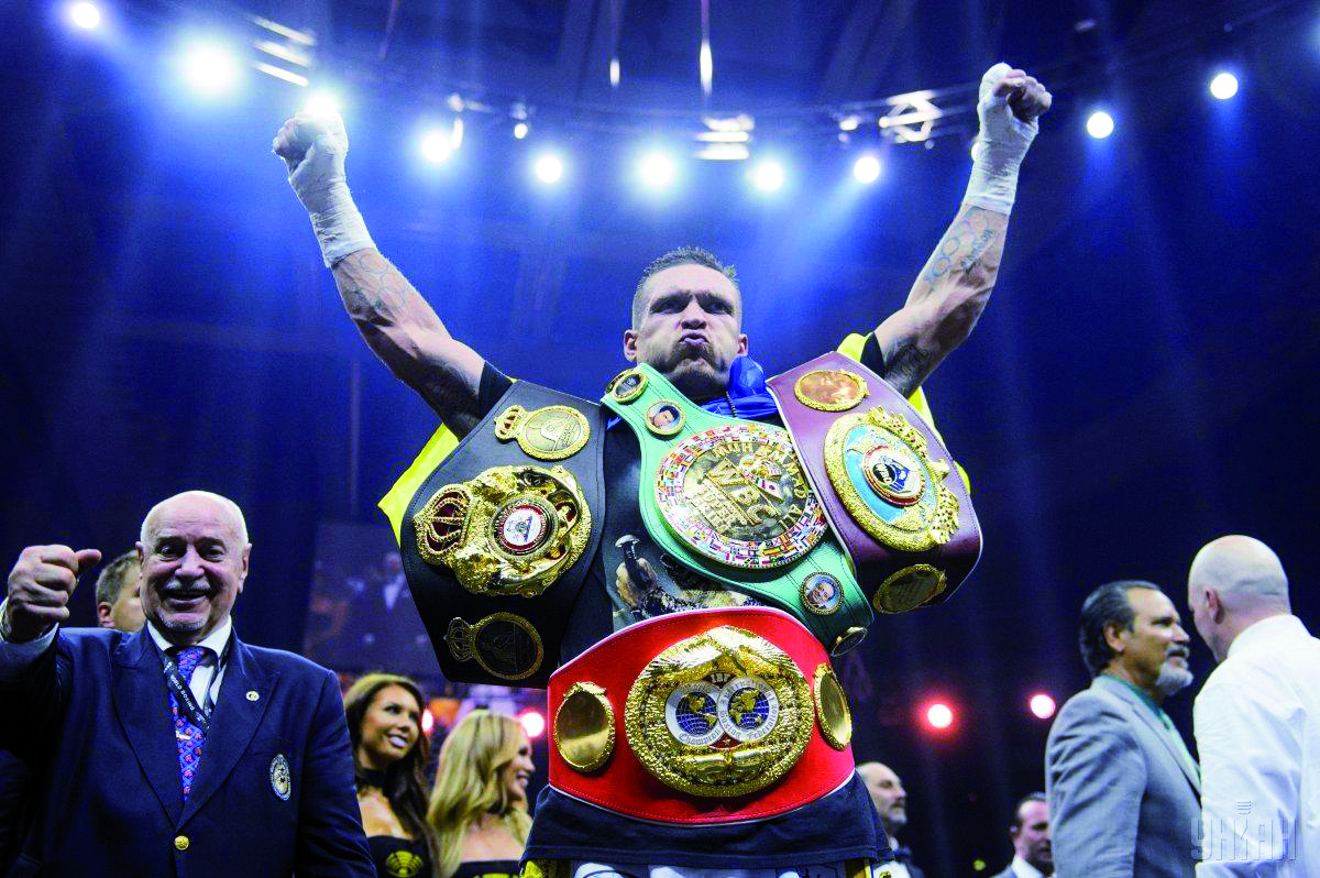Usyk Named ESPN's Top Fighter of 2018