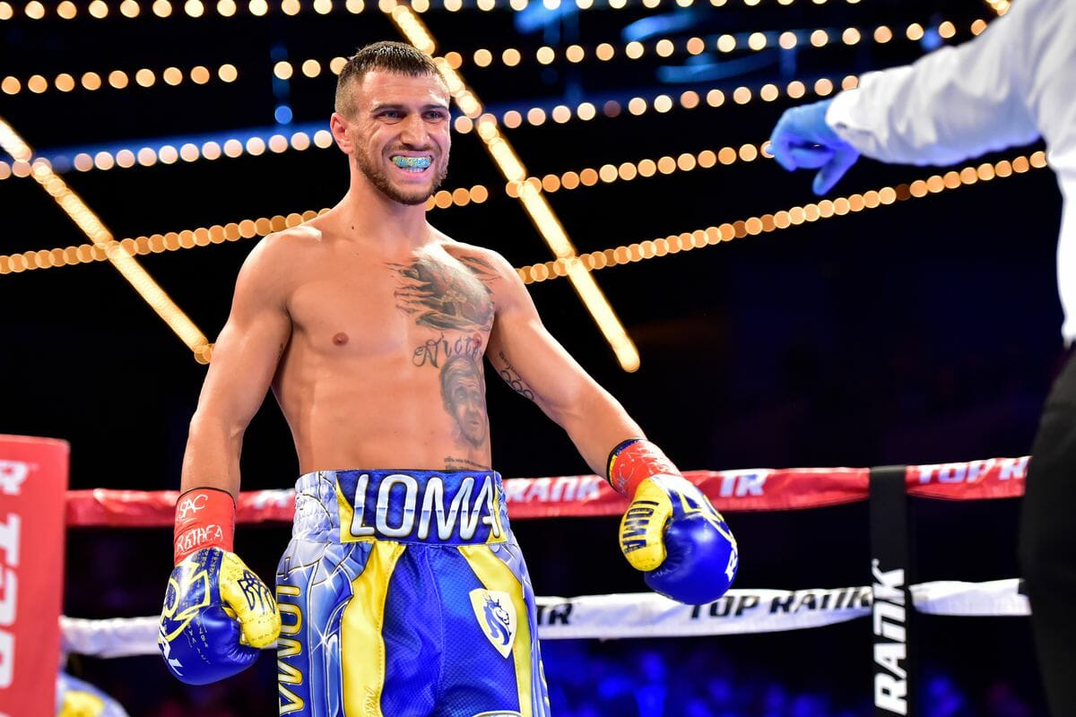 Loma & Usyk Back in Action