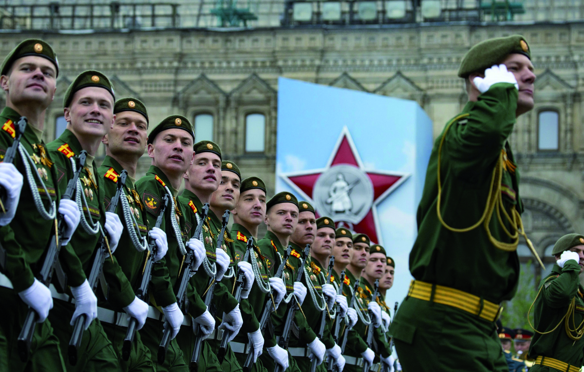 Victory Day Marked