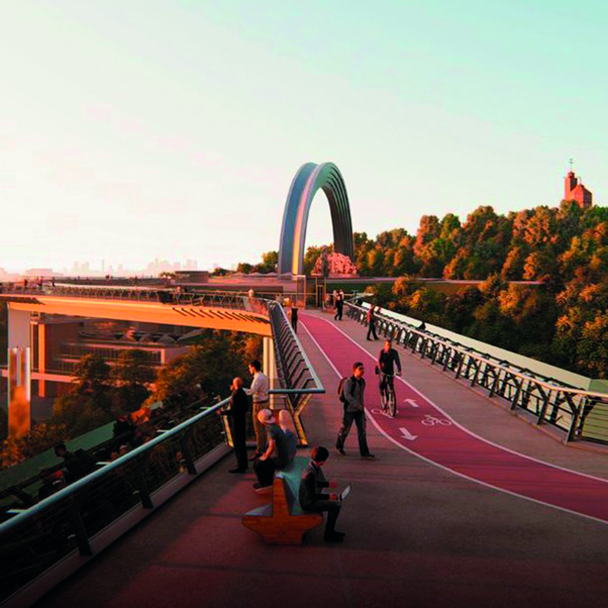 What's Up with the Footbridge?